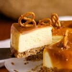 How to make Cheesecake in the Instant Pot: Instant Pot Salted Caramel Cheesecake | Kitchen Cents