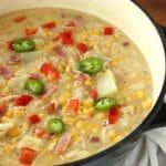Spicy Chicken Corn Chowder | Kitchen Cents