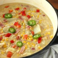 Kickin Chicken Corn Chowder