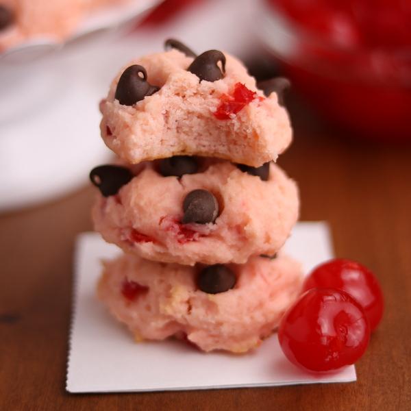 Tender Cherry Chocolate Cookies | Kitchen Cents