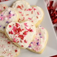 The BEST Rolled Sugar Cookies with buttercream frosting