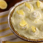 Easy 4-Ingredient Lemon Cream Pie | Kitchen Cents