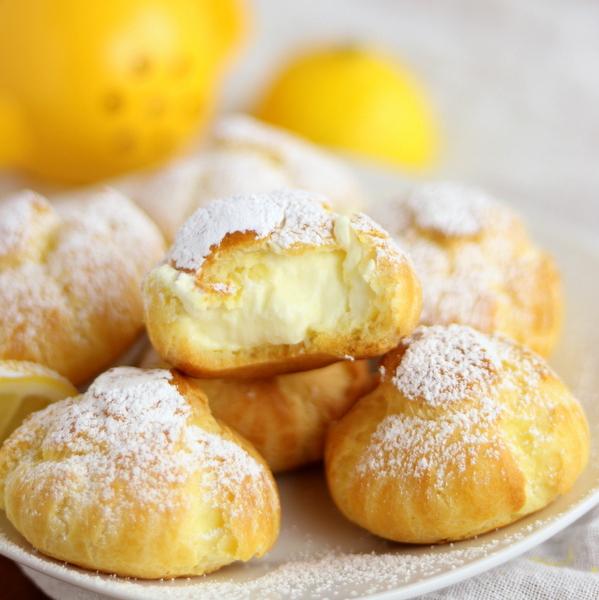 Perfectly Lemon Cream Puffs | Kitchen Cents