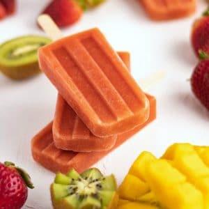 Easy Kiwi Strawberry Mango Smoothie Homemade Popsicles Recipe   Kitchen Cents