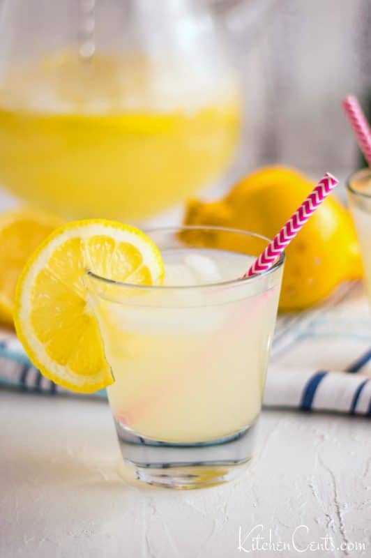 Easy Sugar-Free Lemonade: keto-friendly
