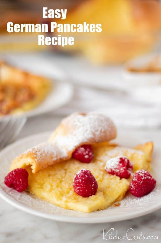 The BEST German Pancakes recipe | Kitchen Cents