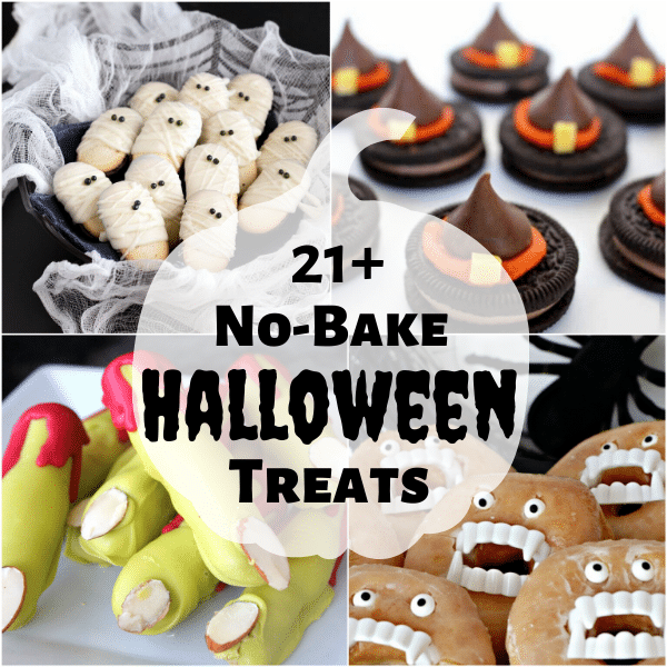 21+ Easy No Bake Halloween Treats | Kitchen Cents