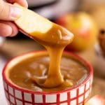 Easy Instant Pot Caramel Dip with Apples | Kitchen Cents
