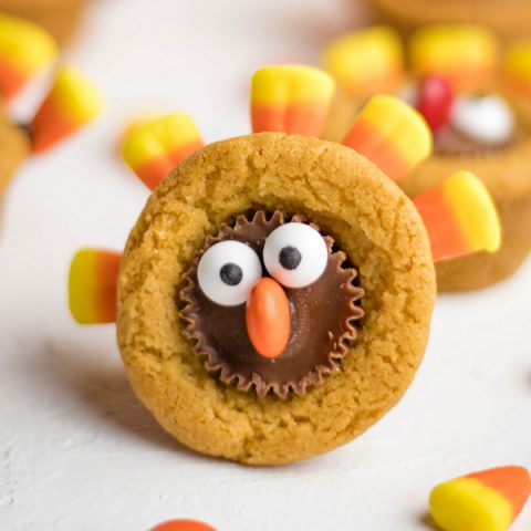 Easy Reese's Thanksgiving Turkey Cookies | Kitchen Cents