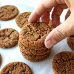 Soft and Chewy Homemade Ginger Snap Cookie recipe | Kitchen Cents