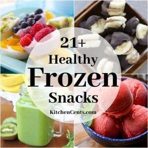 21+ Healthy Frozen Snacks | Kitchen Cents