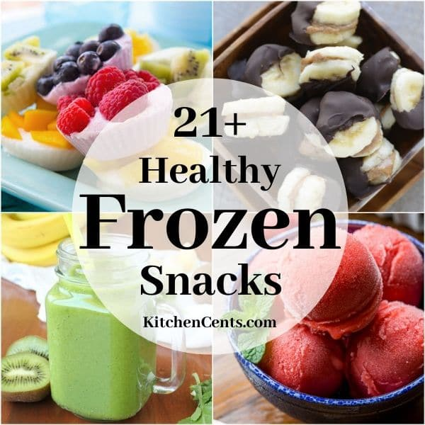 21+ Healthy Frozen Snacks | Kitchen Cents
