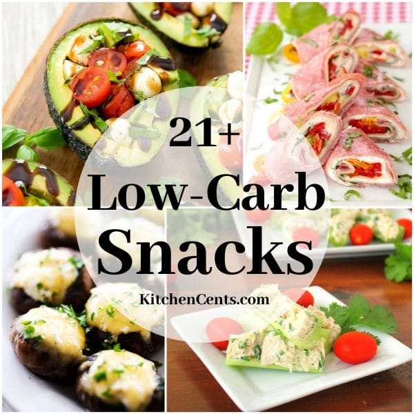 21+ Low-Carb Snacks | Kitchen Cents