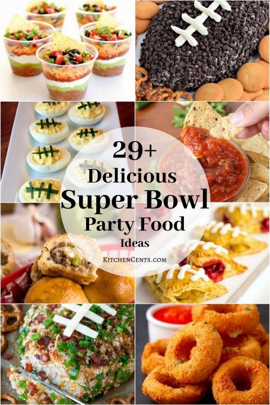 29+ Delicious Superbowl Party Foods | Kitchen Cents