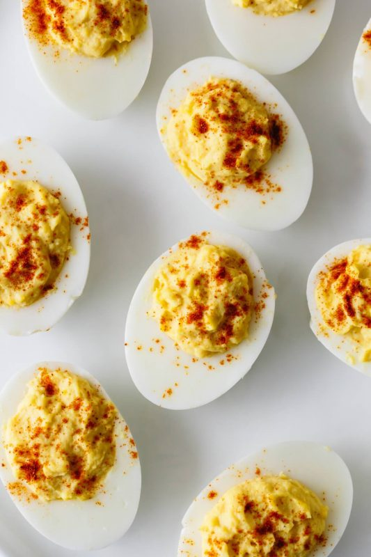 Deviled Eggs | 21+ Low-Carb Snacks