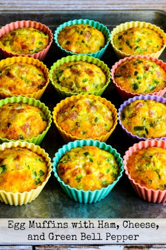 Egg Muffins | 21+ Low-Carb Snacks
