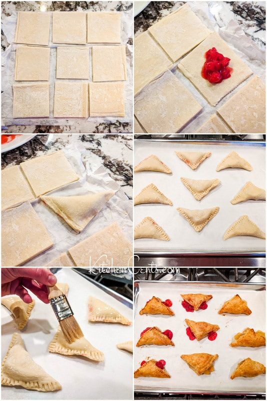How to make mini turnovers for a Superbowl party | Kitchen Cents