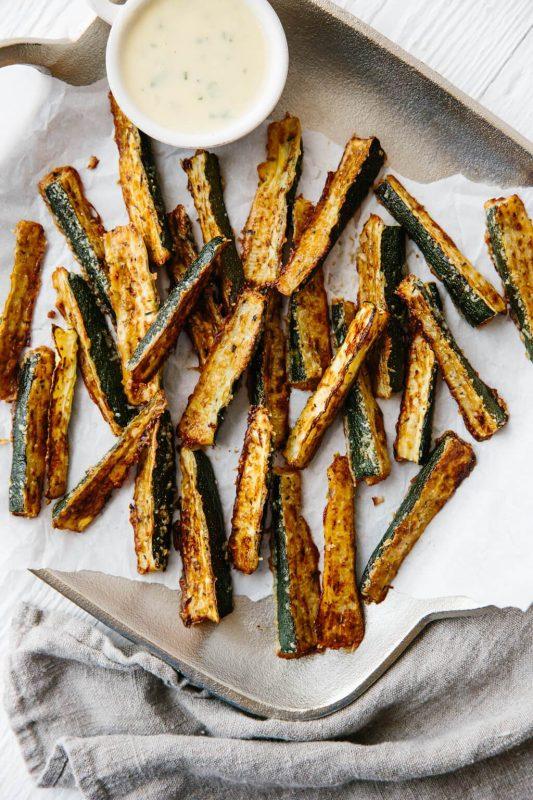Zucchini Fries | 21+ Low-Carb Snacks