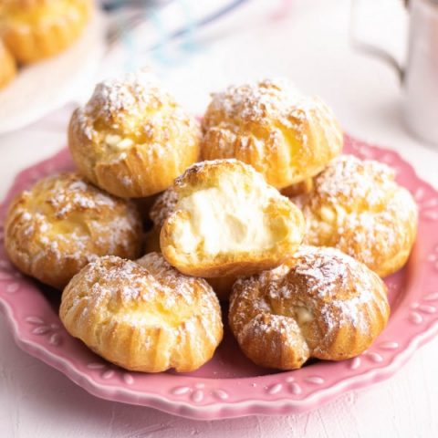 Easy Cream Puffs recipe | Kitchen Cents