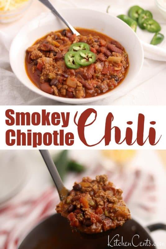 The Best Smokey Chipotle Chili | Kitchen Cents