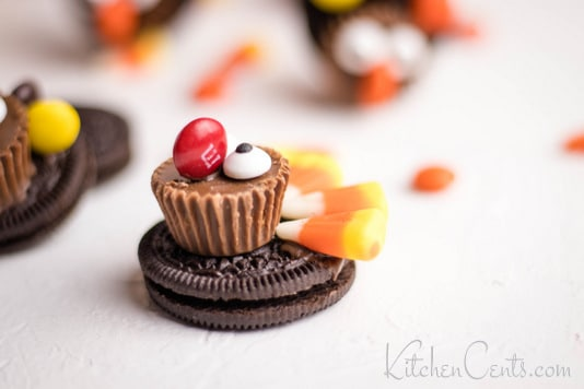 Easy Oreo Turkey Cookies | Kitchen Cents