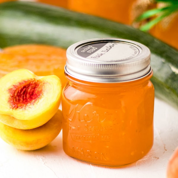 Heavenly Peach Zucchini Jam | Kitchen Cents