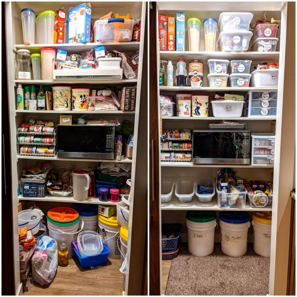 Small Pantry Solutions Space-saving Can Rotator | Kitchen Cents