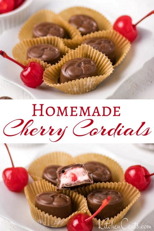 Make your own homemade chocolates - Cherry Cordial Chocolates: chocolate-making made easy | Kitchen Cents