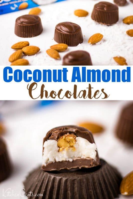 Make your own homemade chocolates - Almond Joy Chocolates: chocolate-making made easy | Kitchen Cents