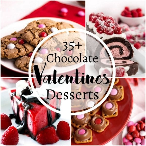35+ Chocolate Valentines Desserts perfect Valentine's Day desserts | Kitchen Cents