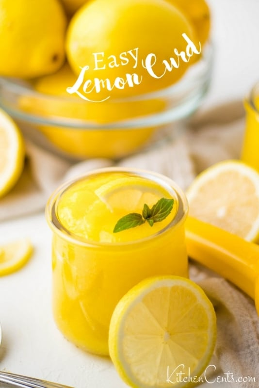 Homemade Lemon Curd Recipe: easy and simple | Kitchen Cents