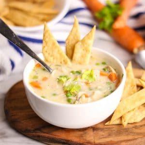 Chicken Pot Pie Soup | Kitchen Cents