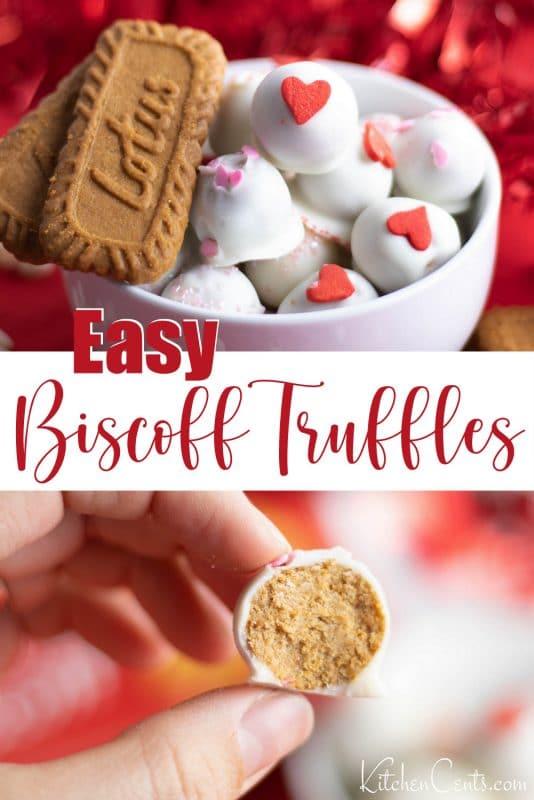 Easy Biscoff Truffles Biscoff Cookie Truffles | Kitchen Cents