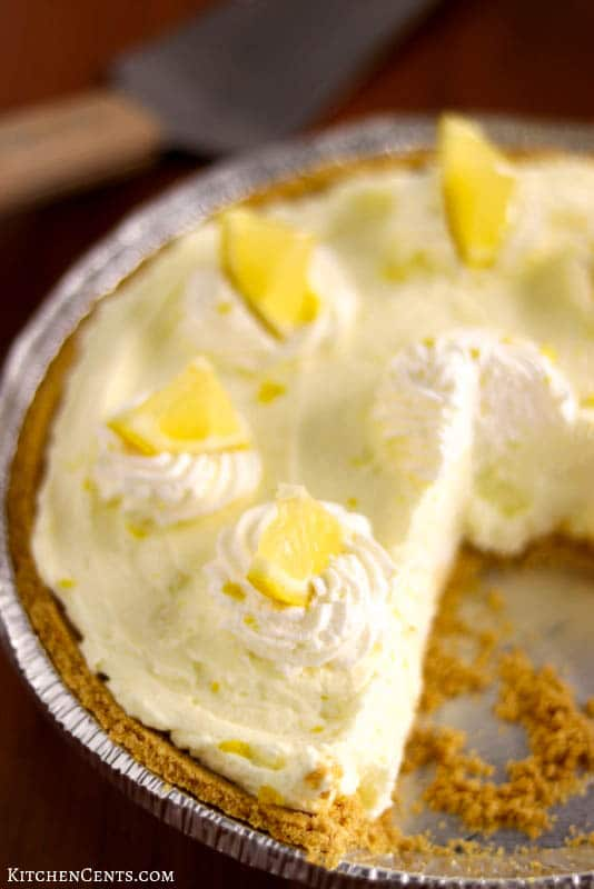 Heavenly Lemon Cream Pie, easy to make and no bake | Kitchen Cents