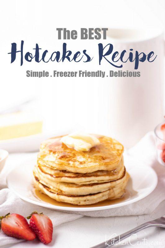 The best Hotcakes Recipe Freezer Friendly | Kitchen Cents