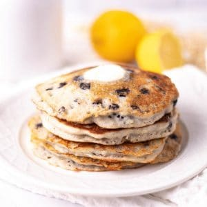 Gluten Free Lemon Blueberry Pancakes | Kitchen Cents