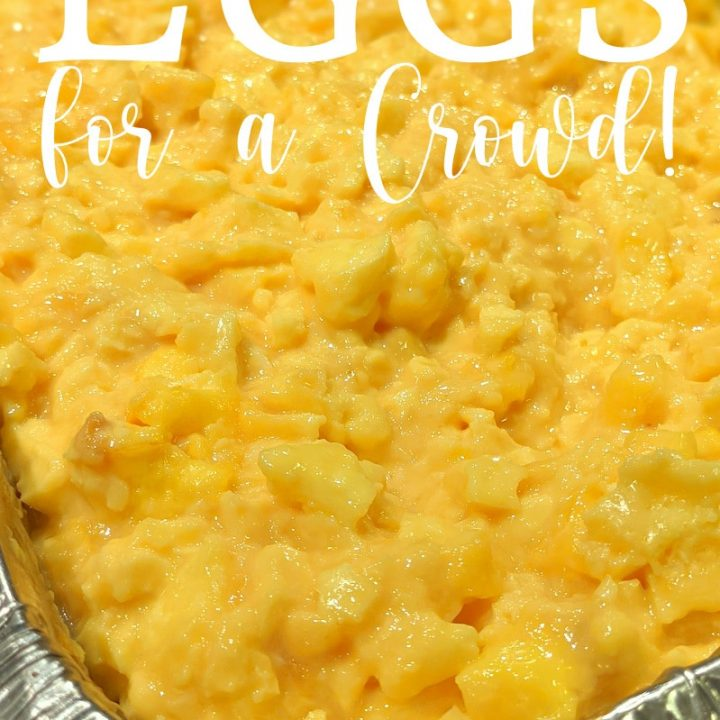 Baked Scrambled Eggs for a crowd | Kitchen Cents